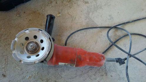Timanttikuppilaikka rälläkässä on yllättävän tehokas työkalu...