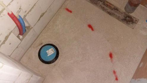 Vessan lattiakaivon korokerengas paikallaan