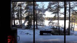 Terassi talvella