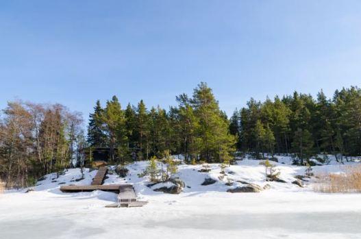 Talvinen pohjoisranta